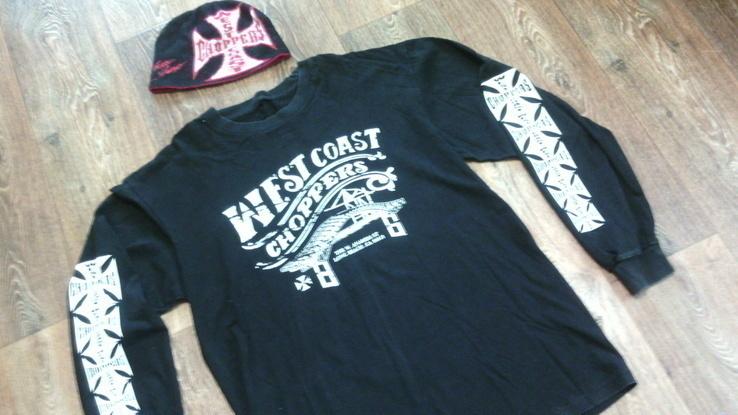 West Coast Choppers(XXL) - свитер + шапка, фото №4