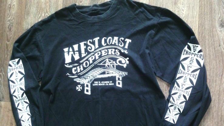 West Coast Choppers(XXL) - свитер + шапка, фото №5