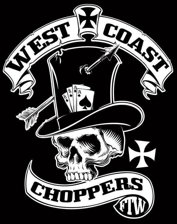 West Coast Choppers(XXL) - свитер + шапка, фото №9