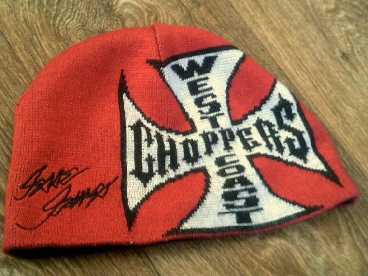 West Coast Choppers(XXL) - свитер + шапка, фото №11