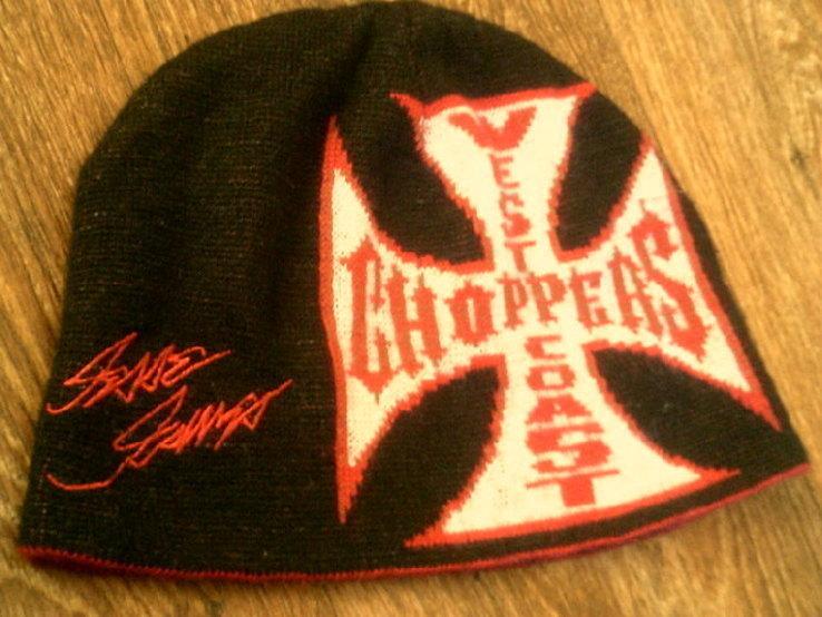 West Coast Choppers(XXL) - свитер + шапка, фото №12