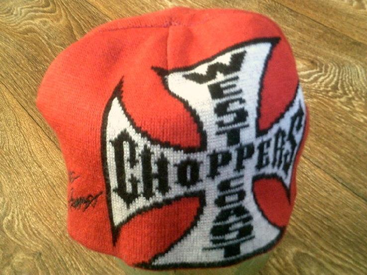 West Coast Choppers(XXL) - свитер + шапка, фото №13