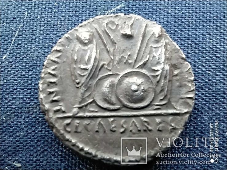 Денарий Августа.27-14 г.до.н.э. Монетный двор lugdunum ( 2 г.до.н.э-4 г.н.э)., фото №8