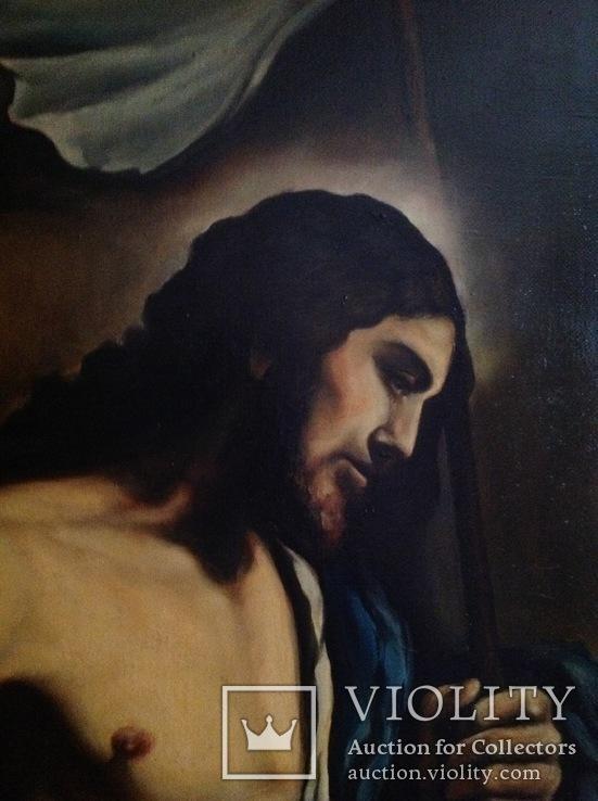 Большая картина Фома не верующий. Копия., фото №8