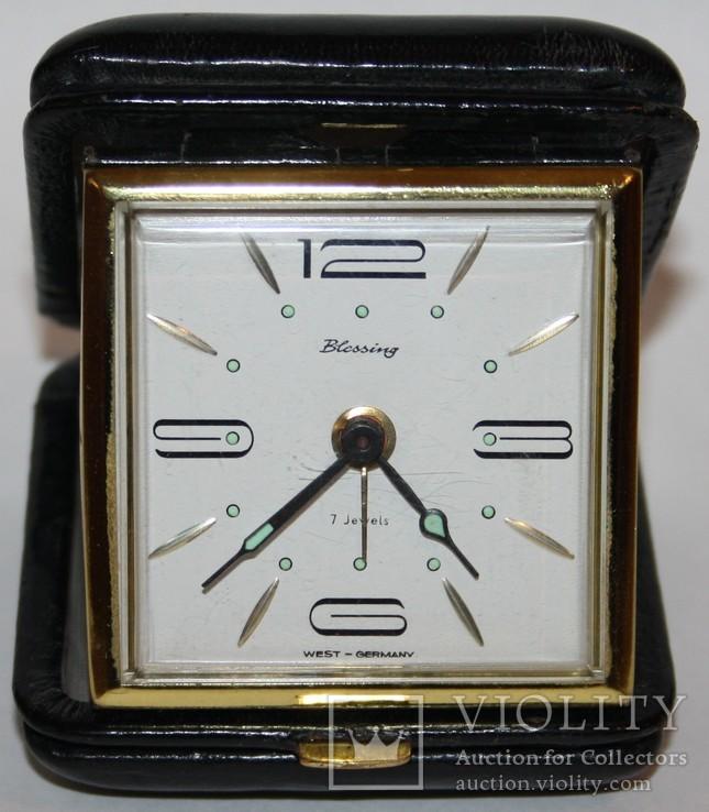 """Дорожные часы-будильник """"Blessing"""" (Зап.Германия), фото №2"""
