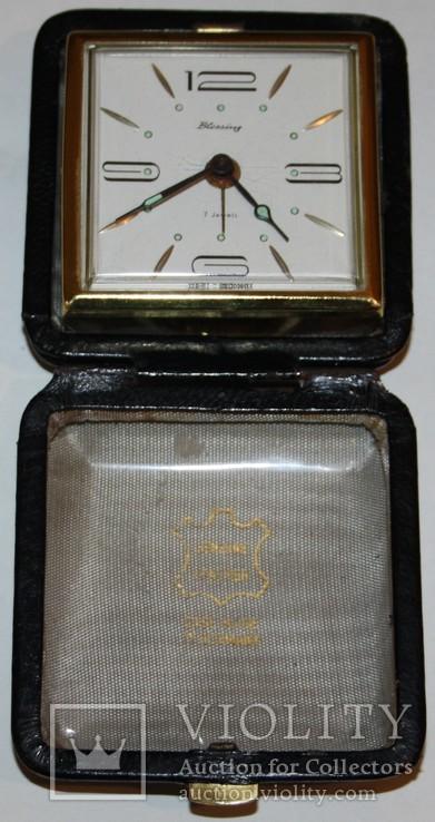 """Дорожные часы-будильник """"Blessing"""" (Зап.Германия), фото №11"""