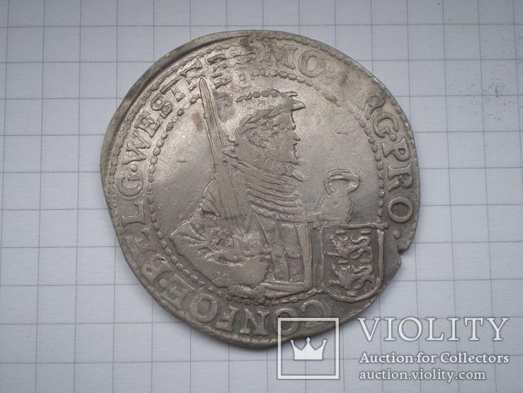 Талер 1621 г. Вест Фризия, фото №2