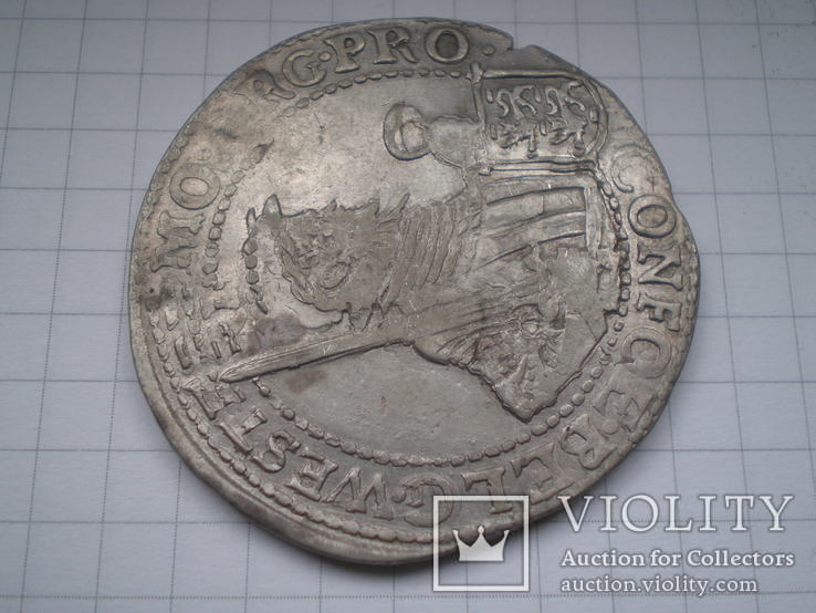 Талер 1621 г. Вест Фризия, фото №3