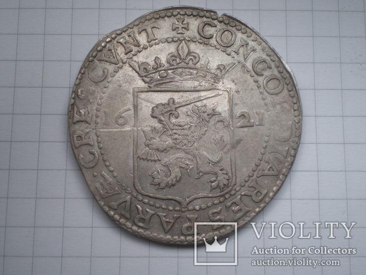 Талер 1621 г. Вест Фризия, фото №4