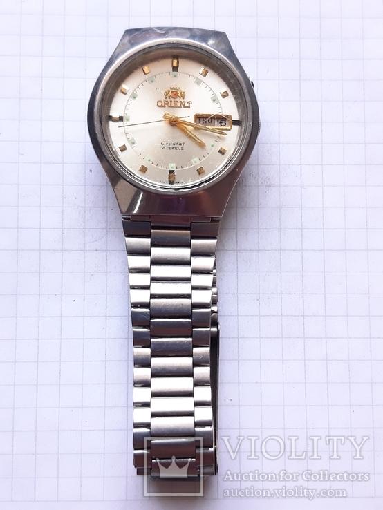 Часы Orient Crystal 21  камень