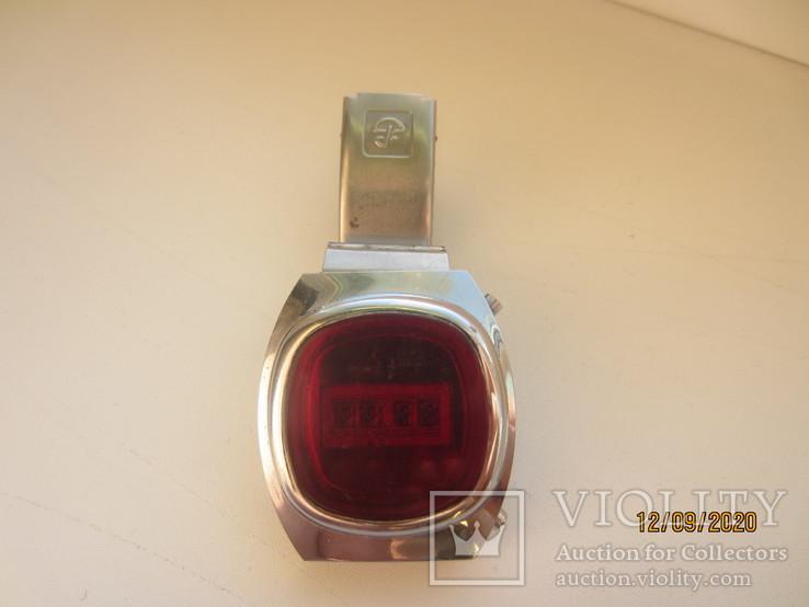 Часы Электроника 1 с родным браслетом.