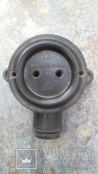 Коробка електрична (Лофт Loft) Розетка СССР, фото №2