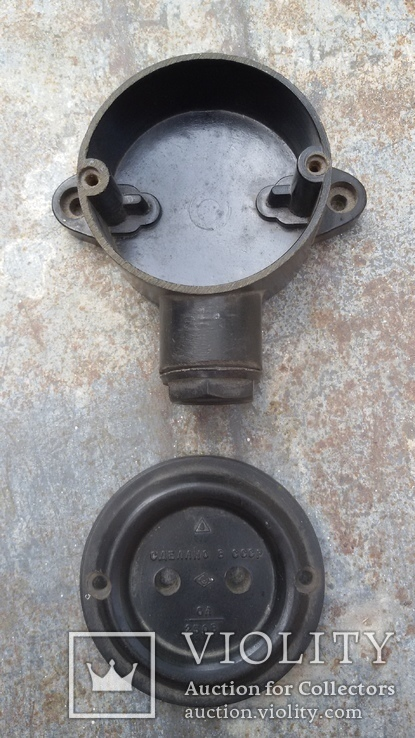 Коробка електрична (Лофт Loft) Розетка СССР, фото №3