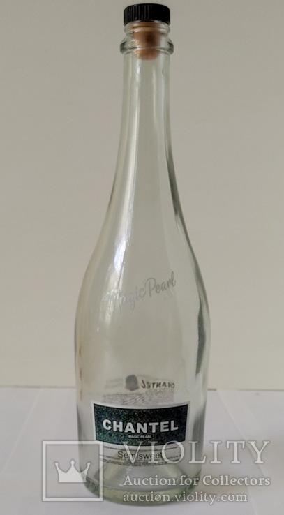 Бутылка от шампанского CHANTEL 0,75 л, фото №2