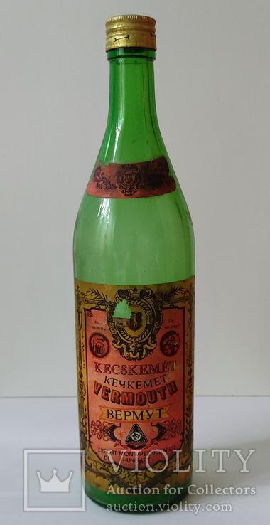 Бутылка от вермута Кечкемет 1 л (красный), фото №2
