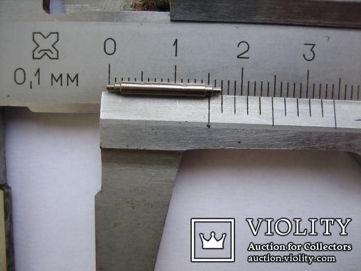 Ушки съемные для корпусов наручных часов. ГОСТ 13649-79, фото №3