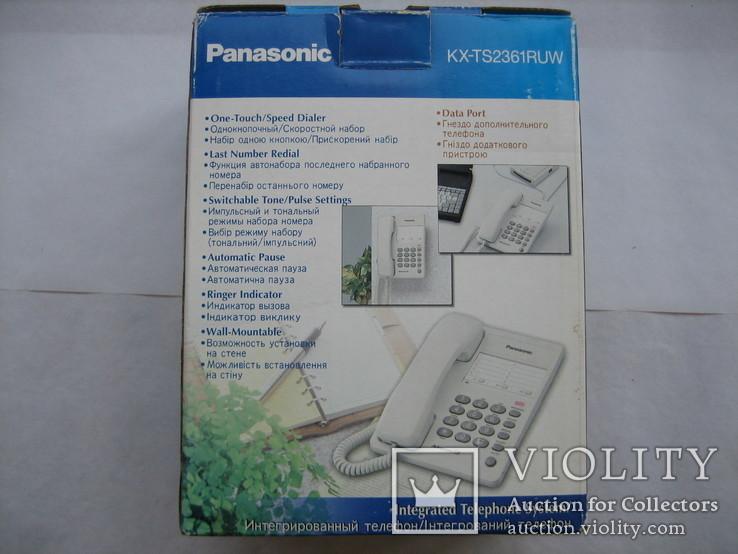 Телефон Panasonic KX-TS2361RUW, фото №6