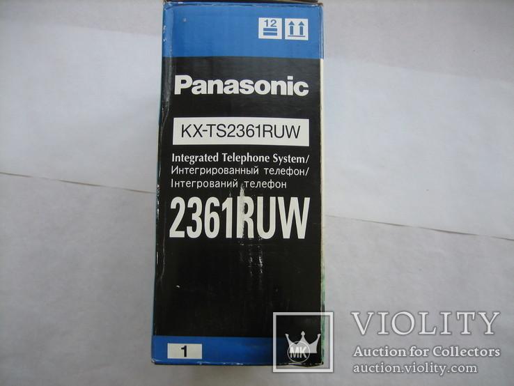 Телефон Panasonic KX-TS2361RUW, фото №7
