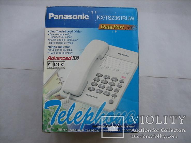 Телефон Panasonic KX-TS2361RUW, фото №8