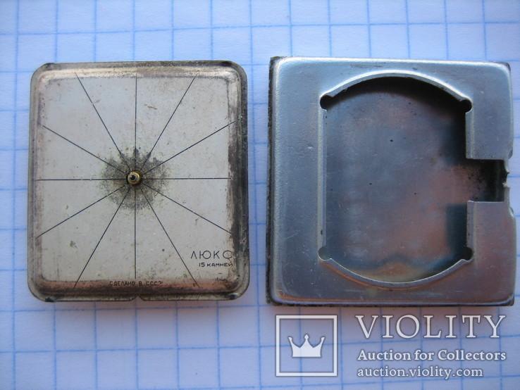 "Механізм + кришка годинника ""Люкс"", фото №2"