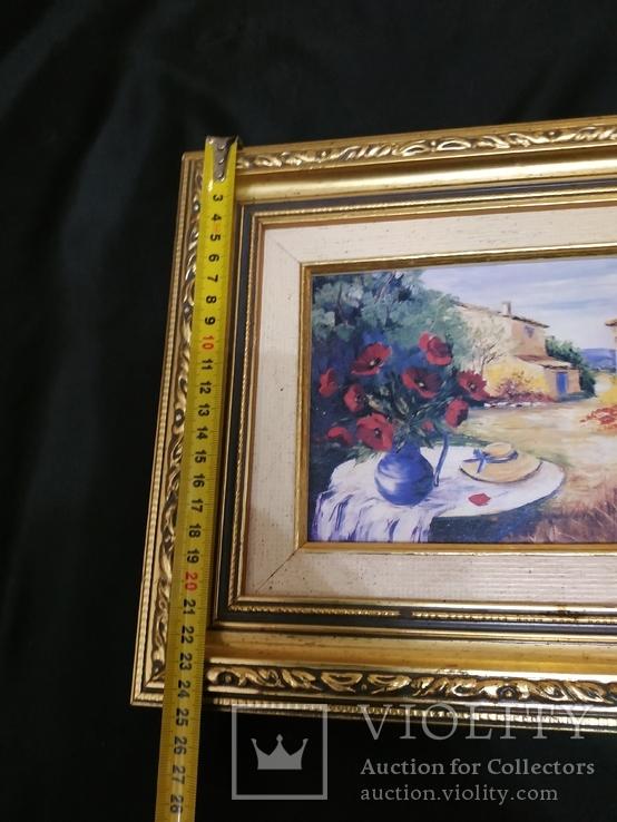Картина  холст масло подпись, фото №5