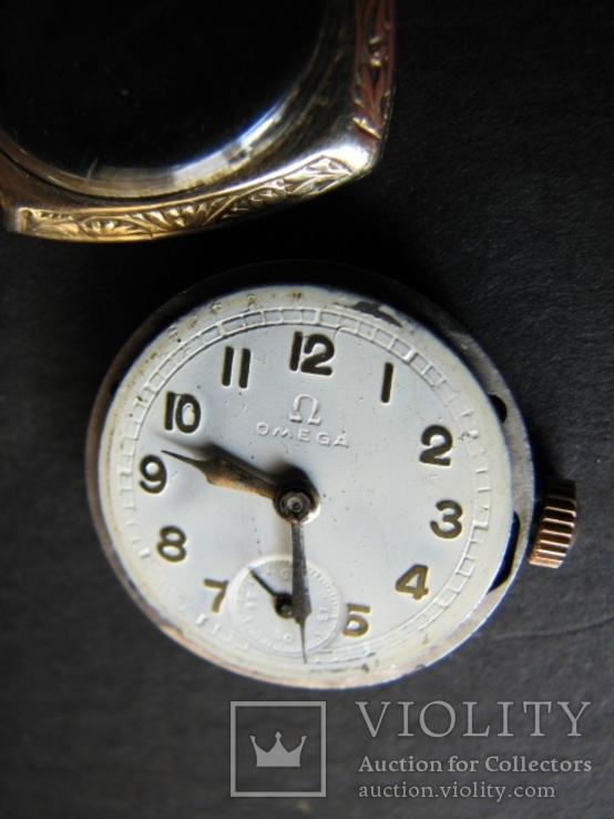 Часы   OMEGA   Швейцария   золото  585пр., фото №3