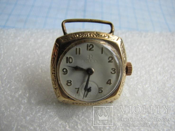 Часы   OMEGA   Швейцария   золото  585пр., фото №10