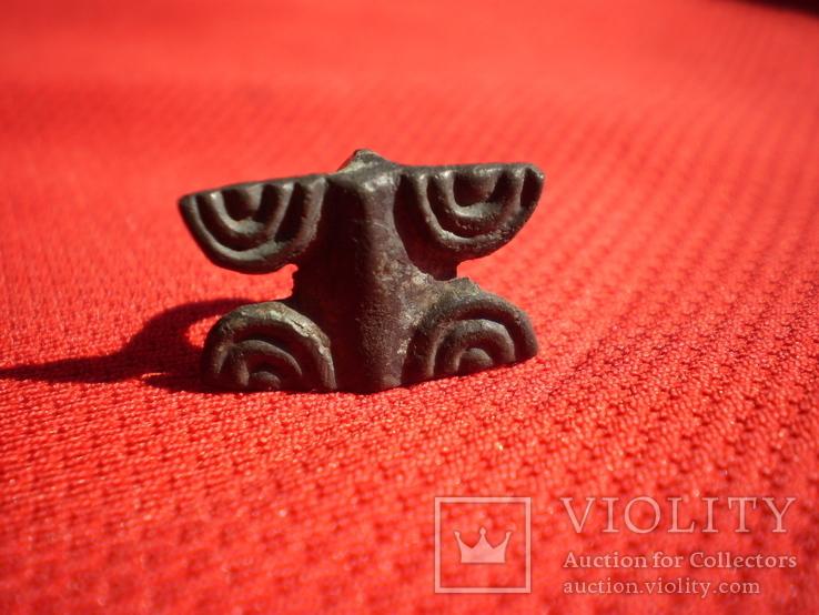 Сбруйная бляшка. Савромати, 5-4 ст.ст. до н.е.