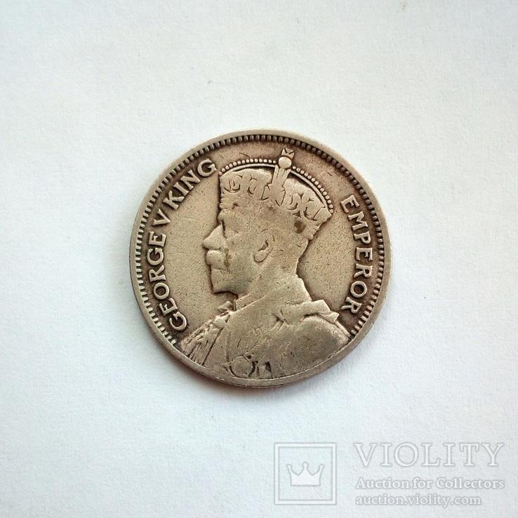 Новая Зеландия 6 пенсов 1936 г., фото №4