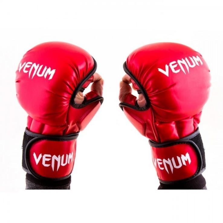 Перчатки Venum MMA, Flex, XL красный
