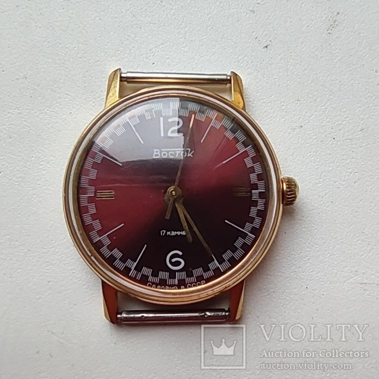 Часы Восток 2409. позолота Au20