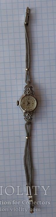 GRUEN swiss , позолота , бриллианты, фото №8
