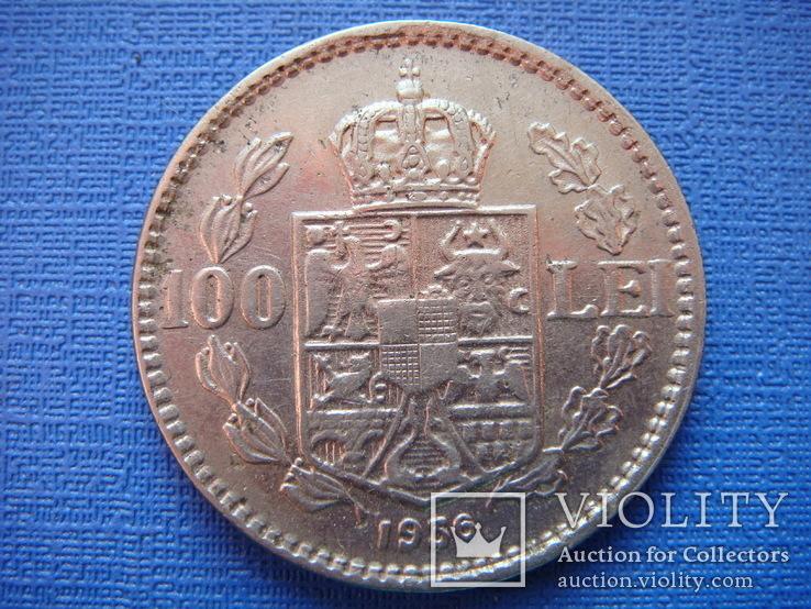 100 лей 1936 г. Румыния, фото №3