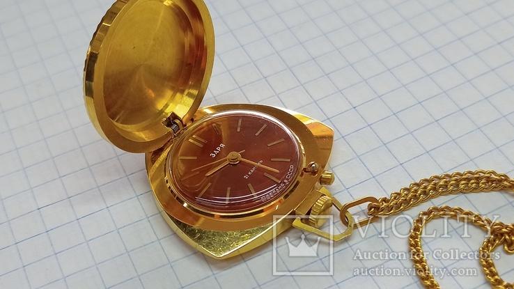 Часы Кулон Ау5, фото №3