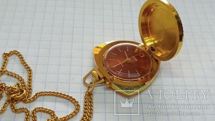 Часы Кулон Ау5, фото №4