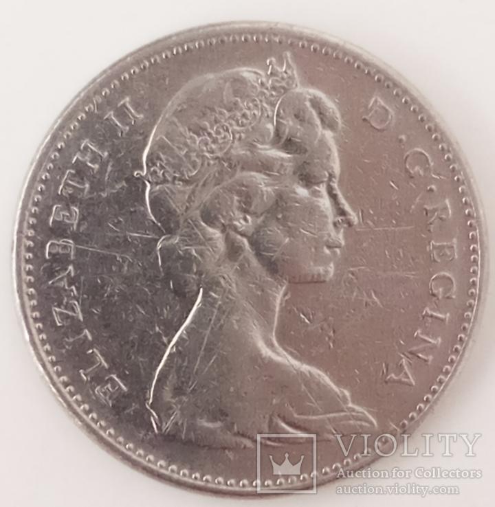 5 центов 1968 г. Канада, фото №3