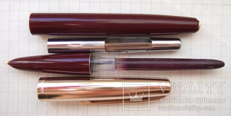 """Перьевая ручка """"Wing Sung-612"""". Пишет мягко, тонко и насыщенно., фото №4"""