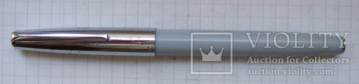 Перьевая ручка АР-19 МЗПП. Перо с напайкой. Пишет довольно мягко и тонко., фото №3