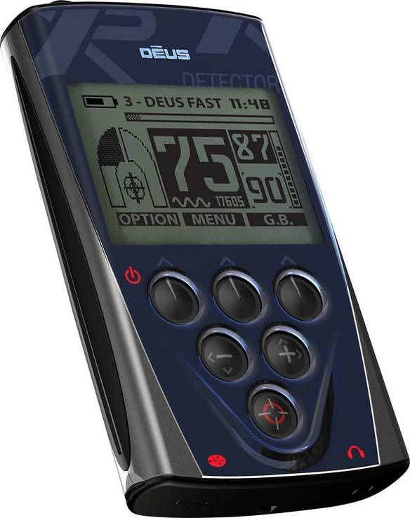 Металлоискатель XP Deus 24x13 HF RC, фото №3