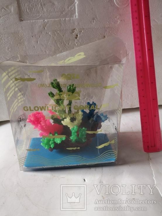 В аквариум корал украшение искуственный, фото №2