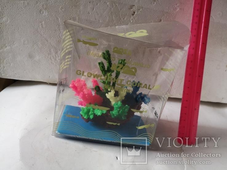 В аквариум корал украшение искуственный, фото №3