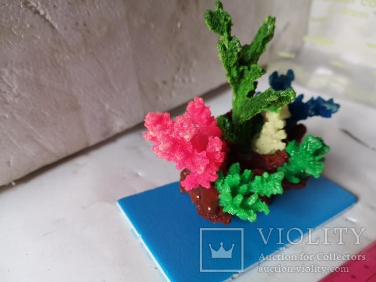 В аквариум корал украшение искуственный, фото №8
