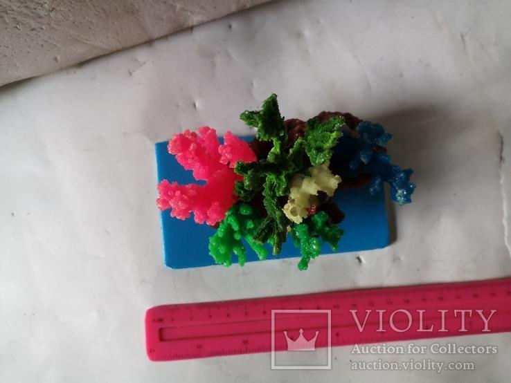 В аквариум корал украшение искуственный, фото №9