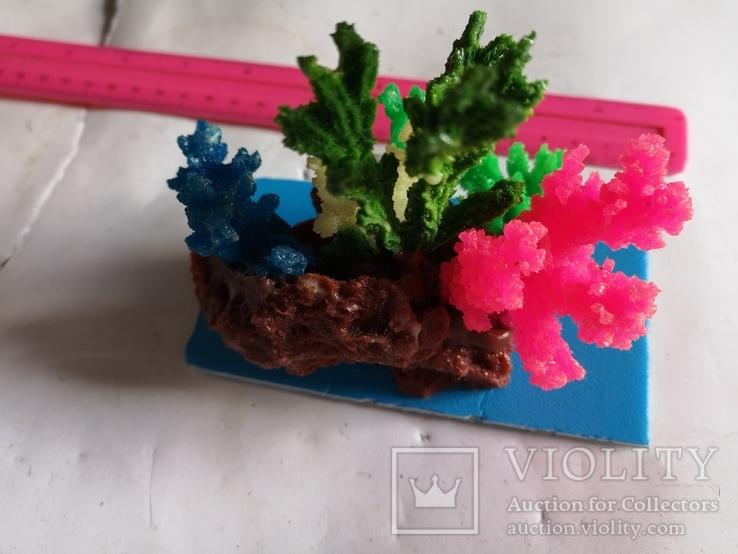 В аквариум корал украшение искуственный, фото №10