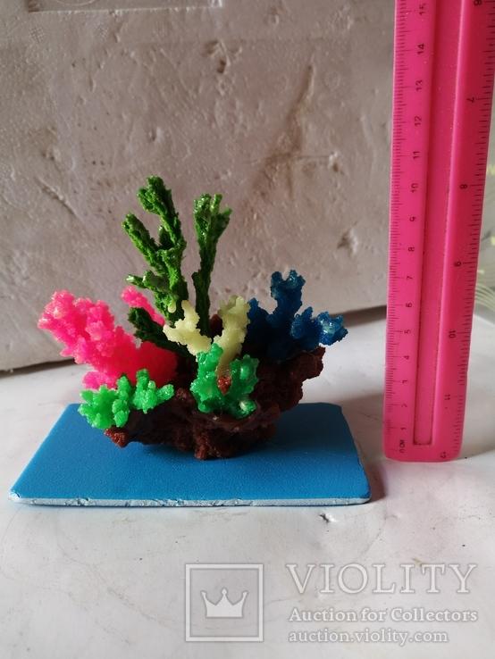 В аквариум корал украшение искуственный, фото №11