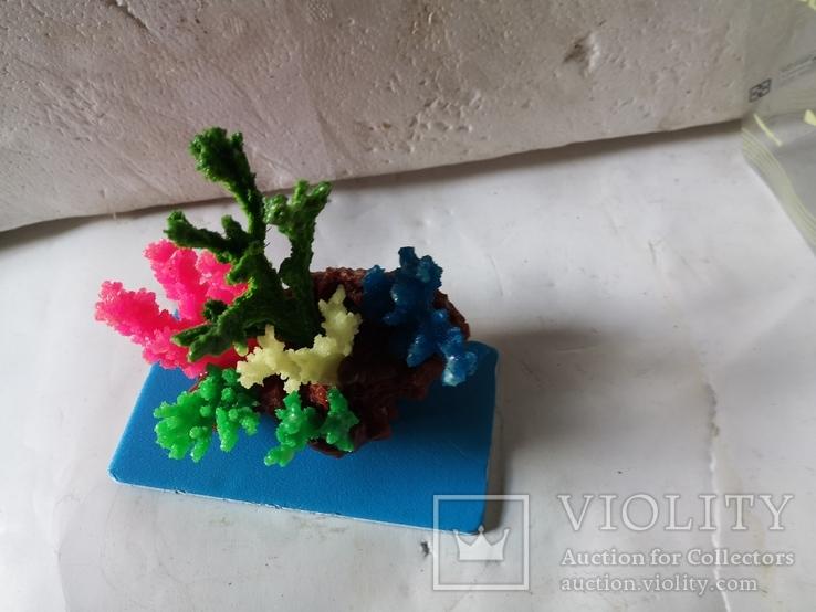 В аквариум корал украшение искуственный, фото №13