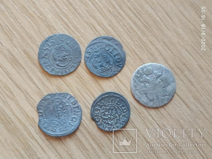 Старые серебряные солиды, фото №2