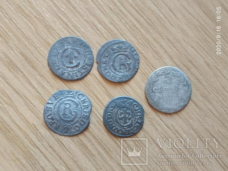 Старые серебряные солиды, фото №6