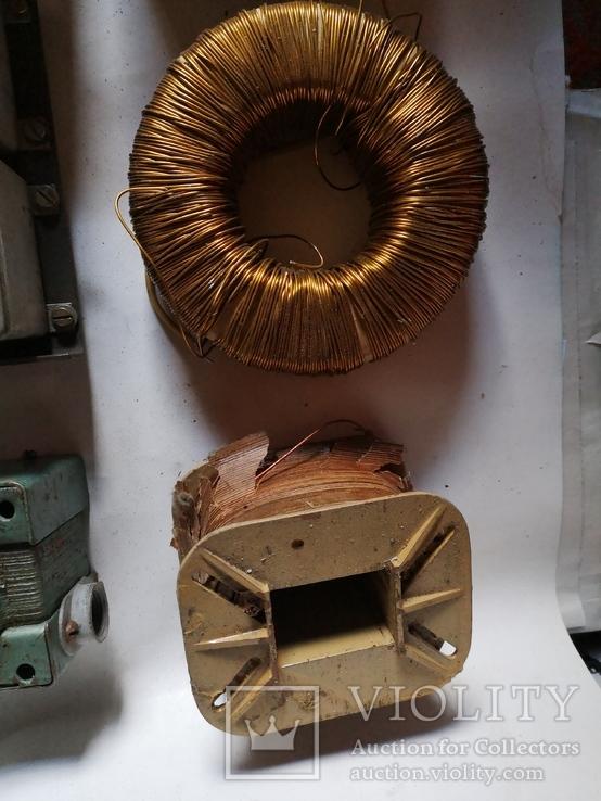 Трансформаторы медные медь обмотка радио детали уборка гаража, фото №4