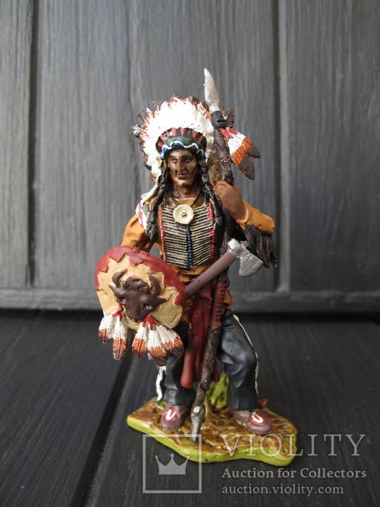Лот 3 шт Индейцы . Индеец  Олово 80 мм Hobby & Work, фото №8